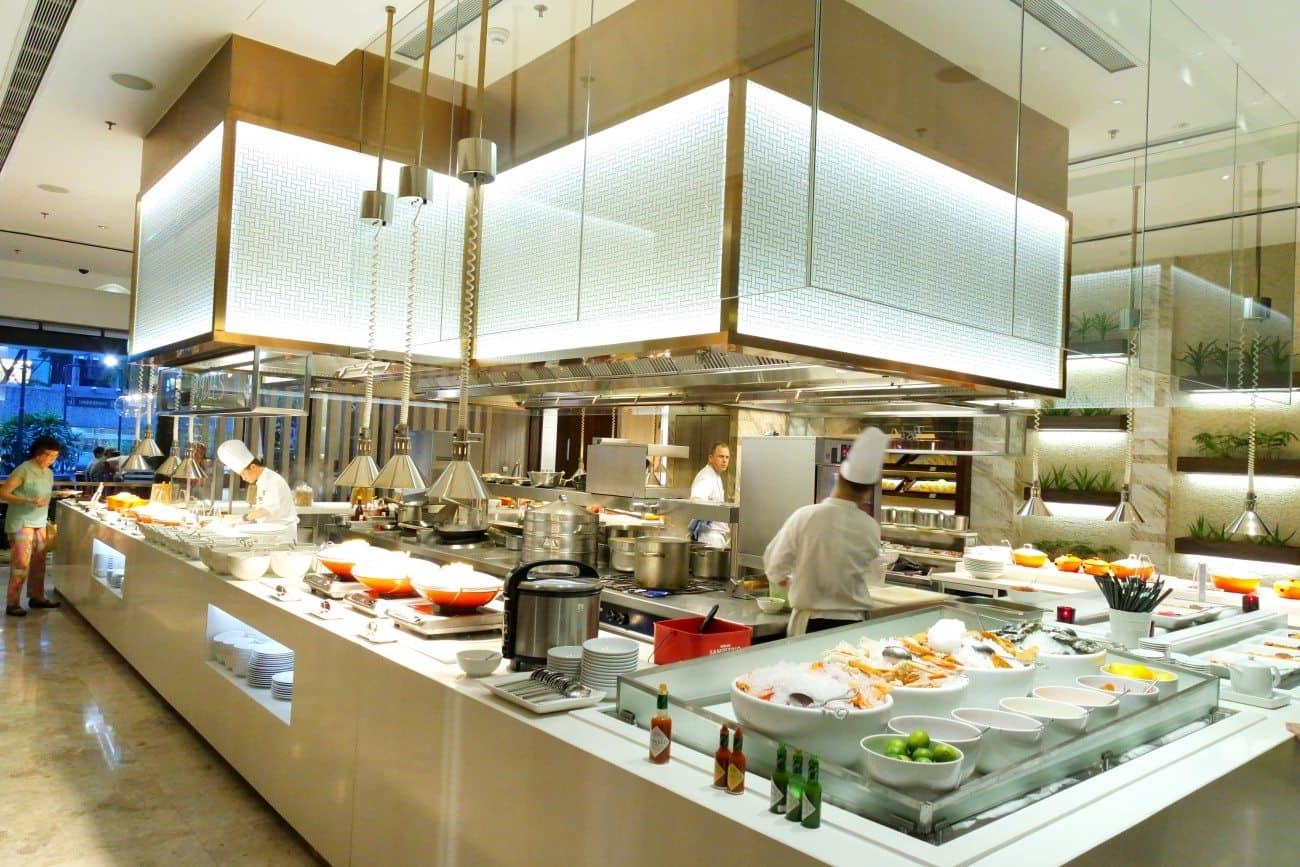 Marriott Cafe Singapore Marriott Hotel Fresh International Buffet