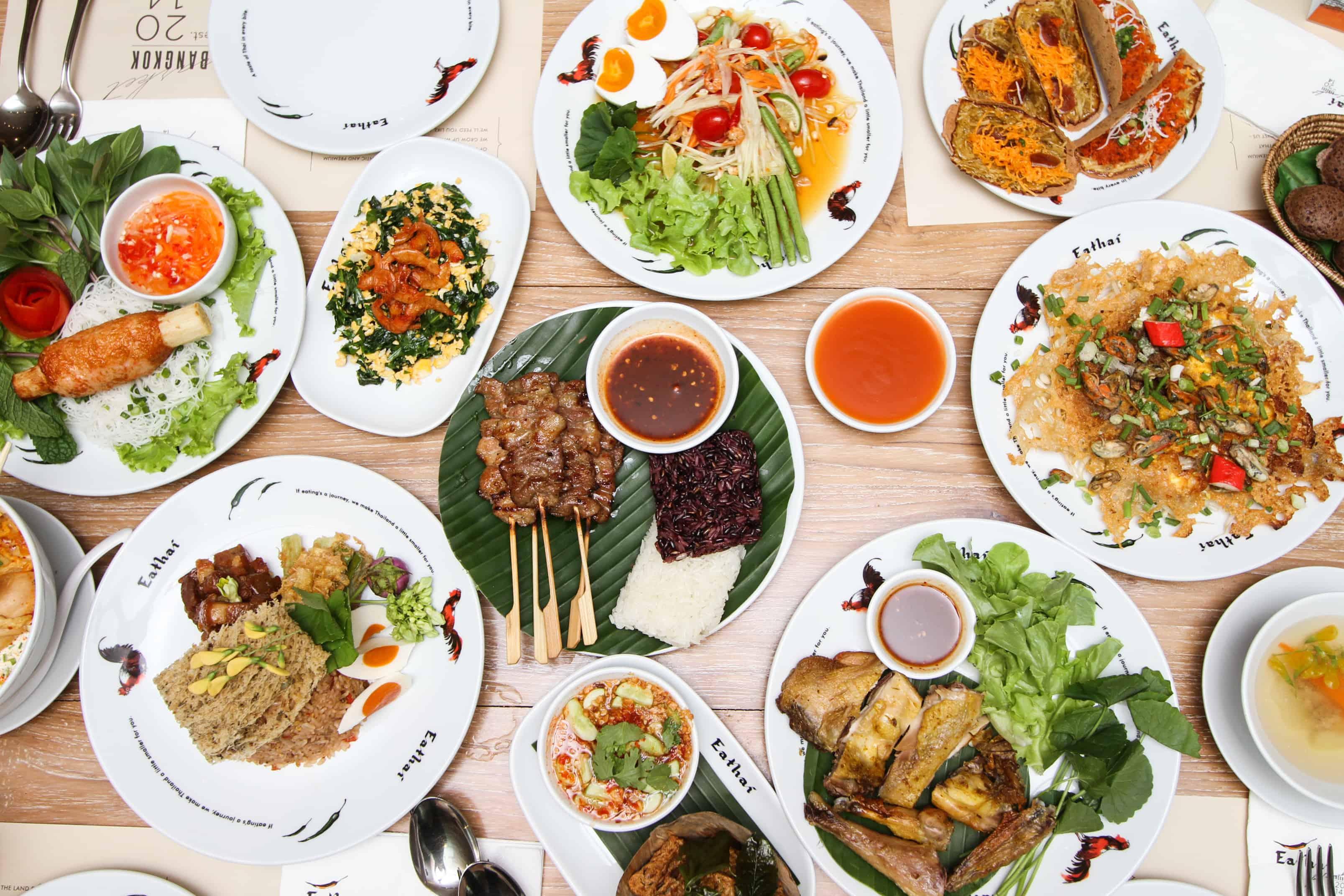 Eathai thai food kingdom in central embassy bangkok for Cuisine bangkok