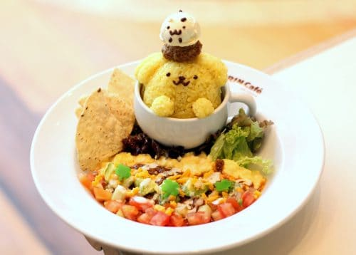 Pompompurin Café – 1st Sanrio Character in Singapore!
