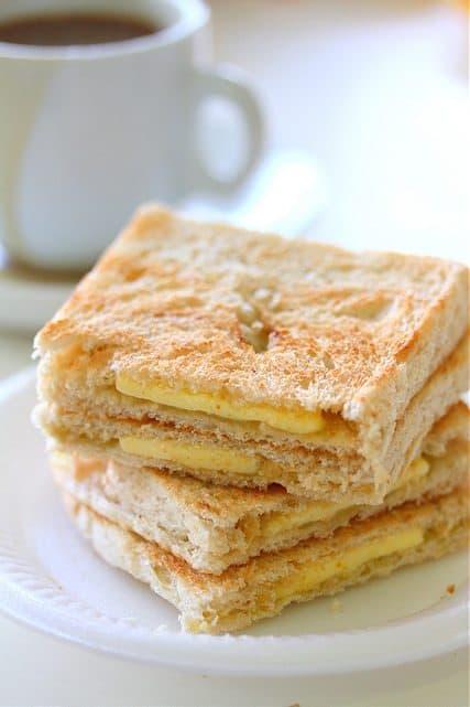 Coffee Hut Kaya Toast Bread