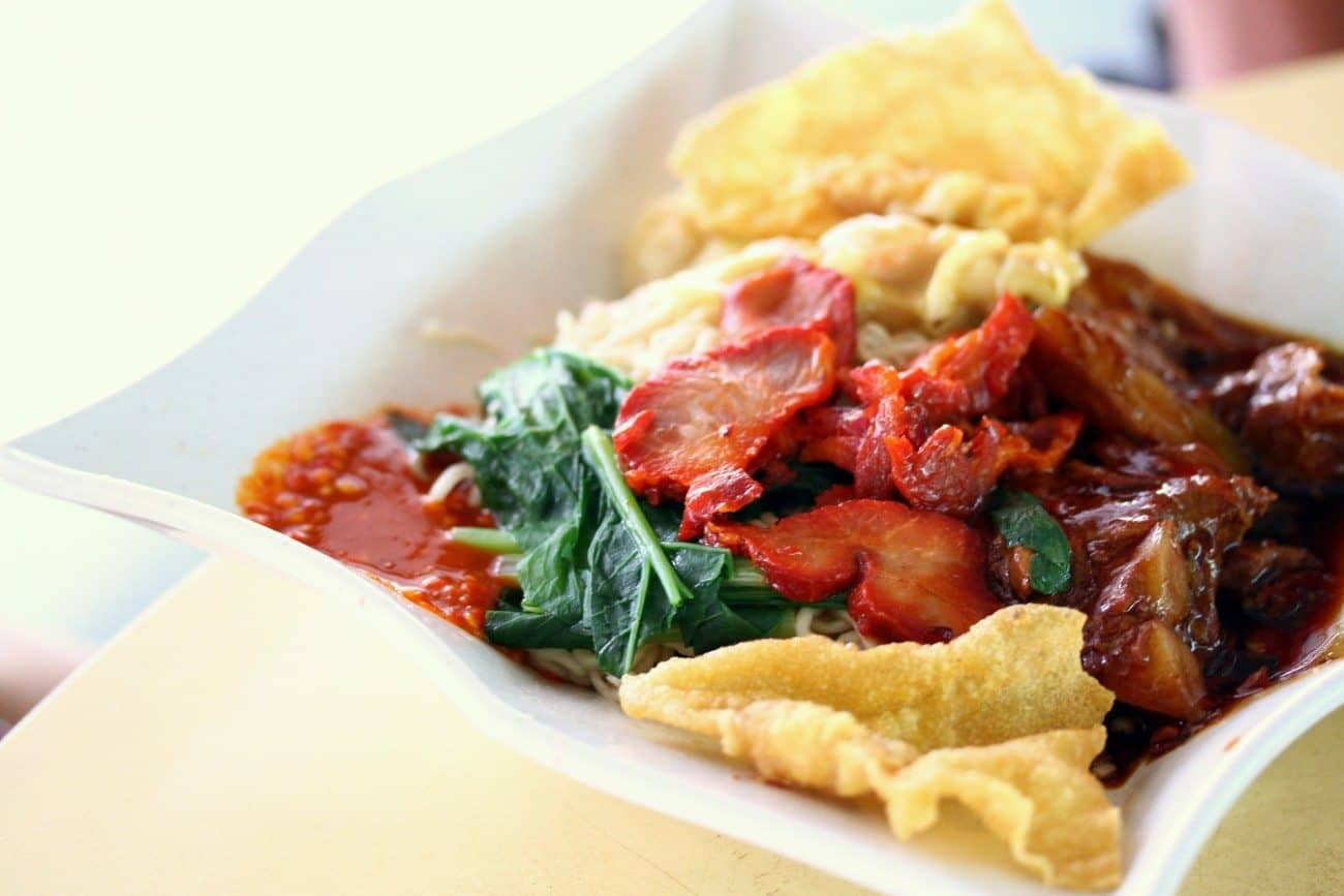 Yummy Sarawak Kolo Mee