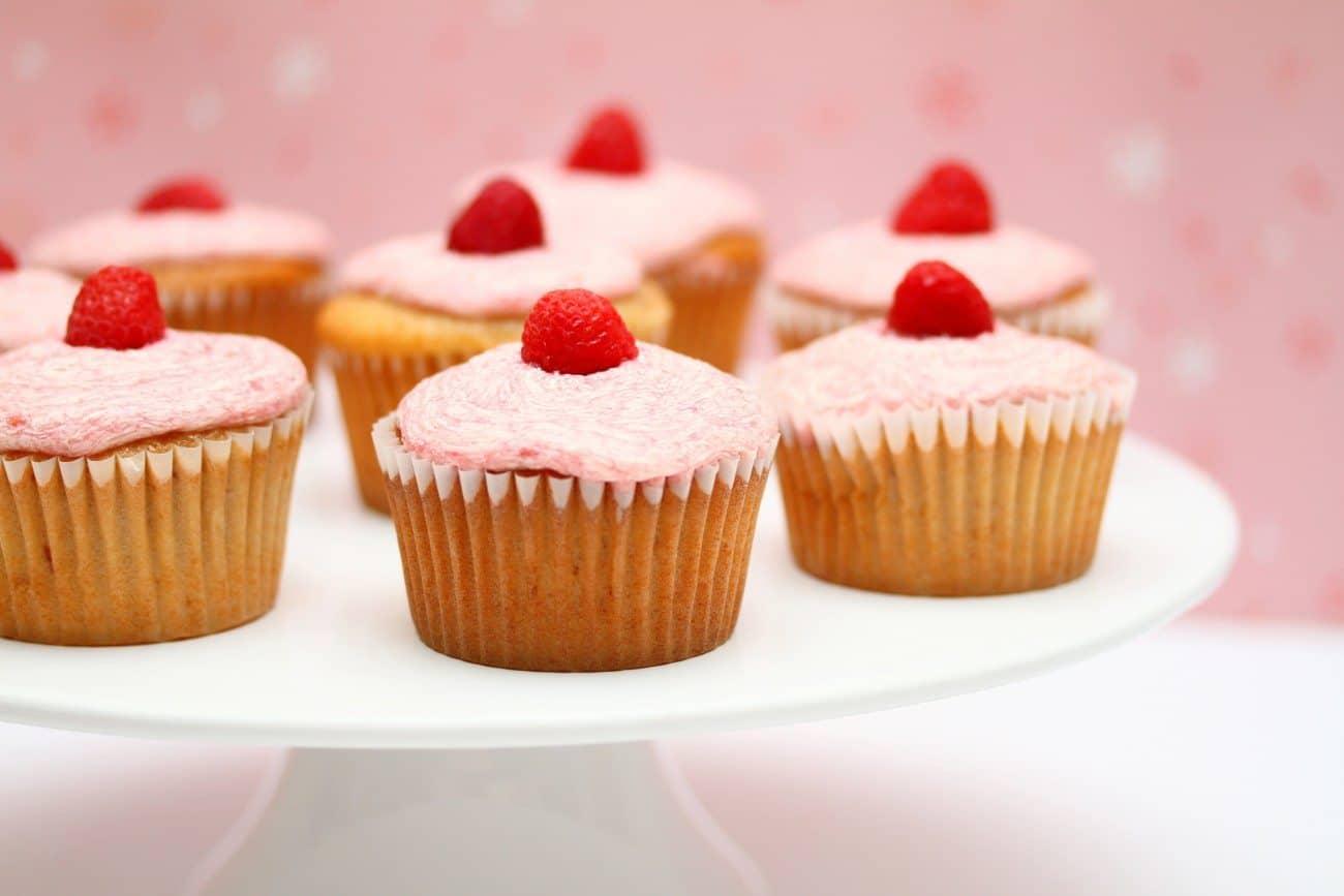 Ispahan Cupcakes