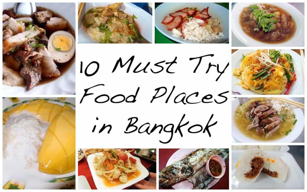 Must Eat Street Food In Bangkok