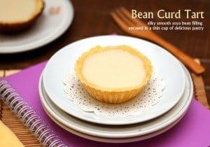 Bean Curd Tarts