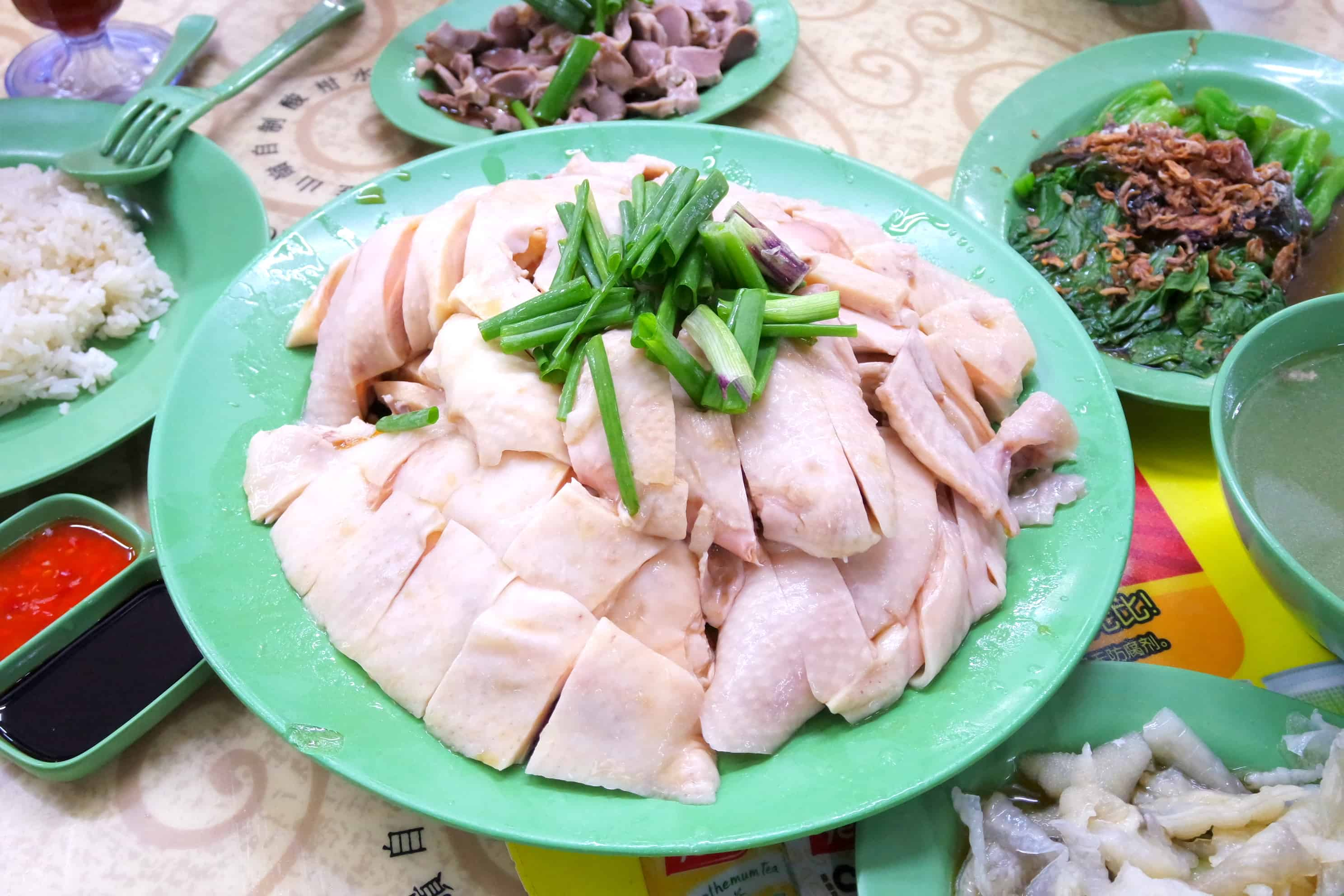 Ming Kee Chicken Rice At Bishan Chilled Chicken For You