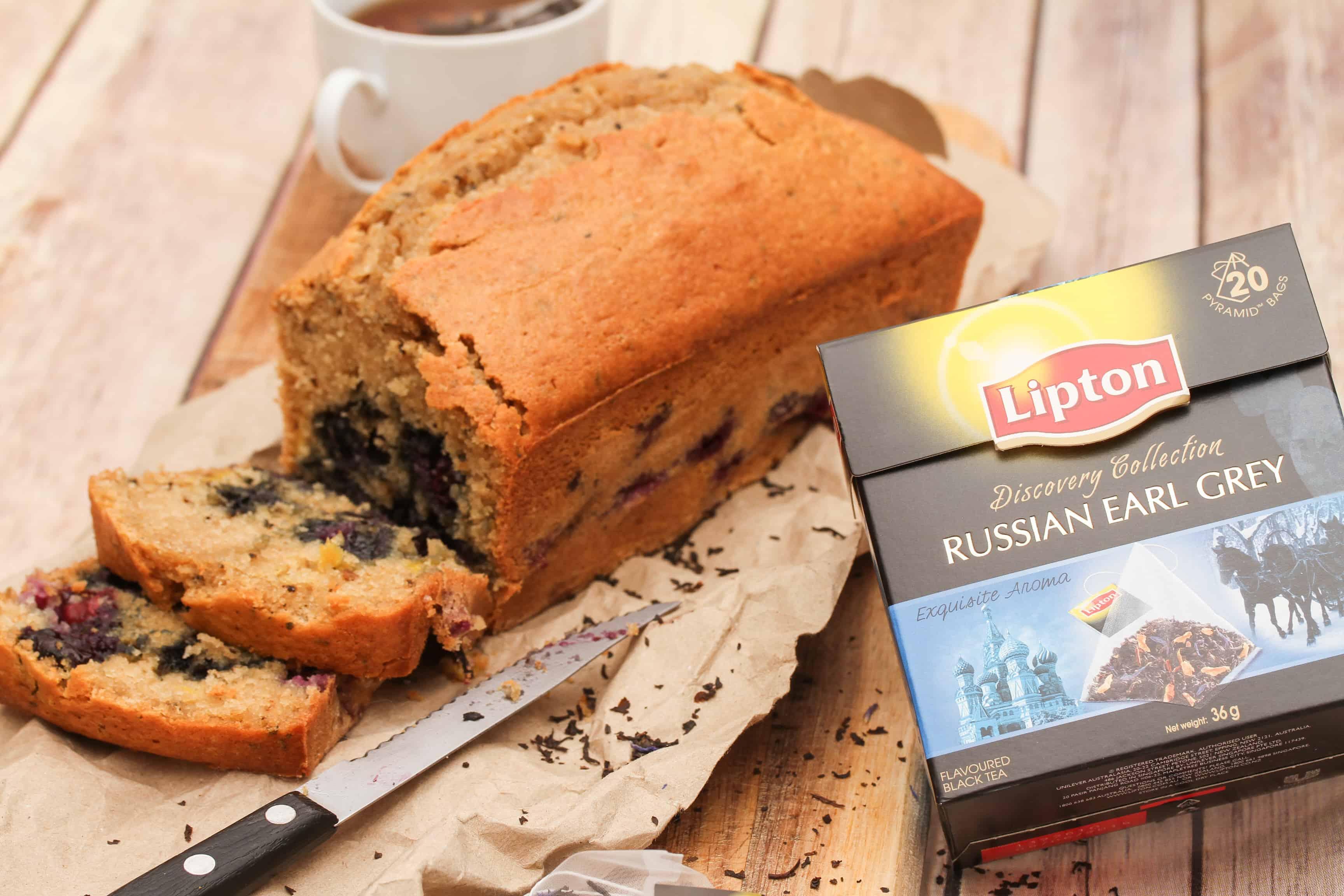 Creating Recipes using Lipton Tea