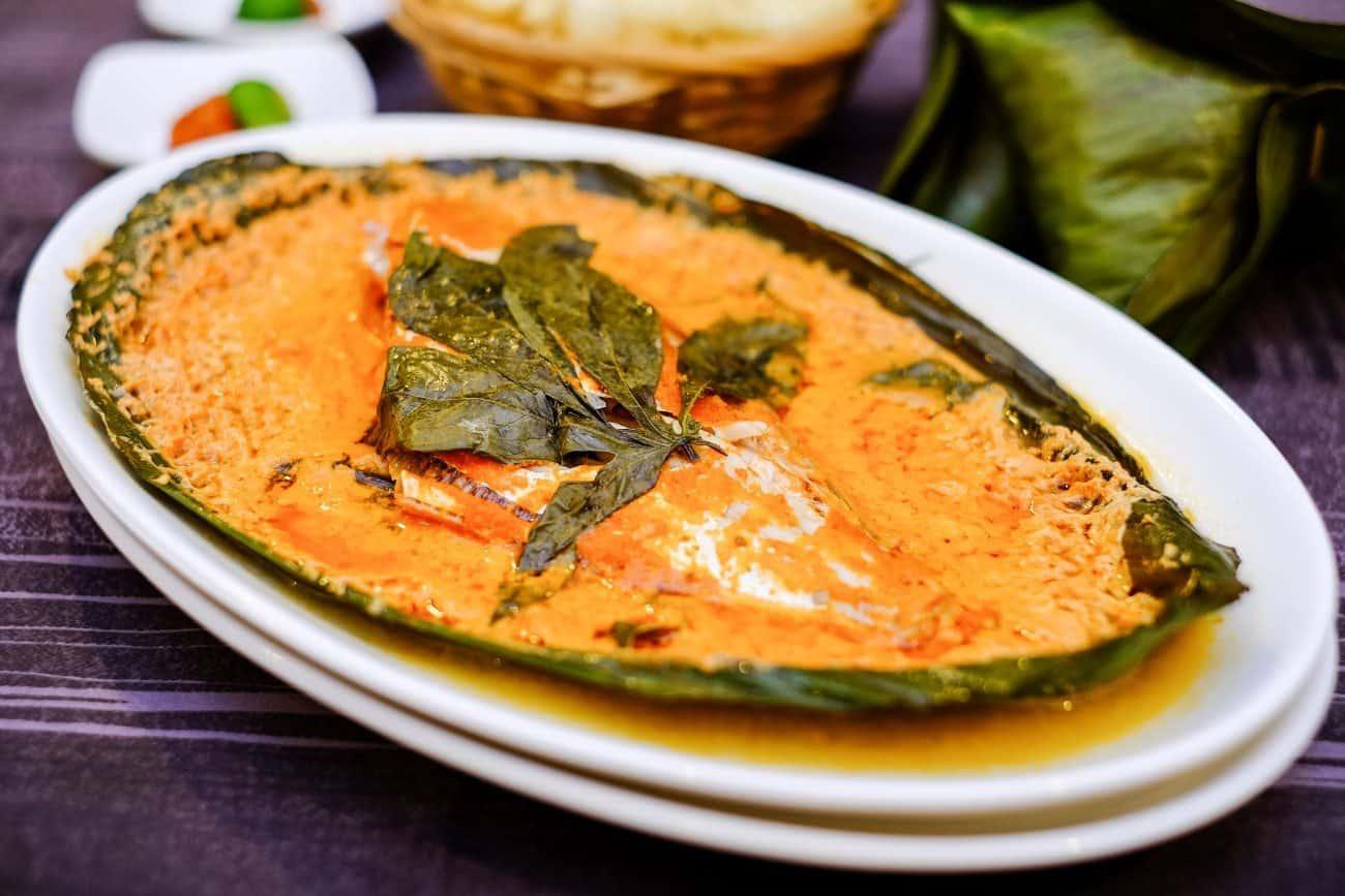 Pagi Sore Indonesian Restaurant's Ikan Otah Kukus