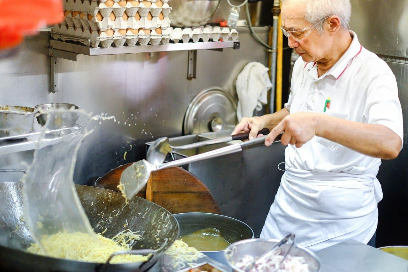 Yi Sheng Fried Hokkien Prawn Mee