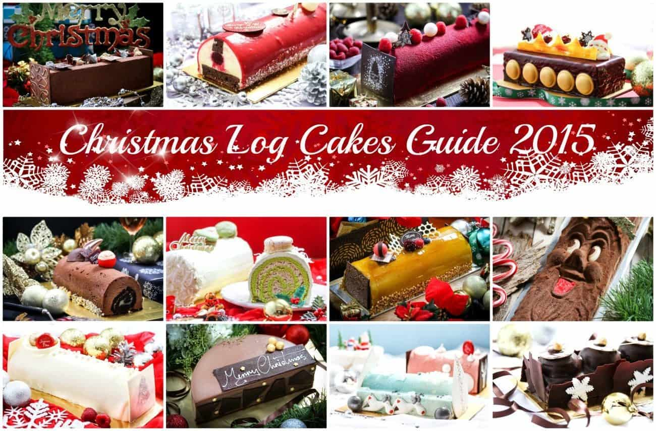 Christmas Log Cakes