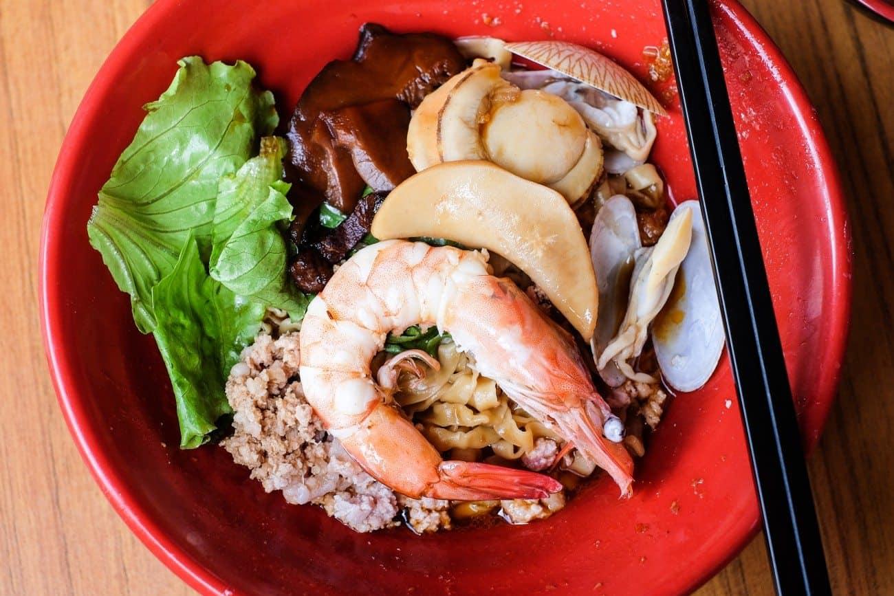 Yong He Bak Chor Seafood Noodles