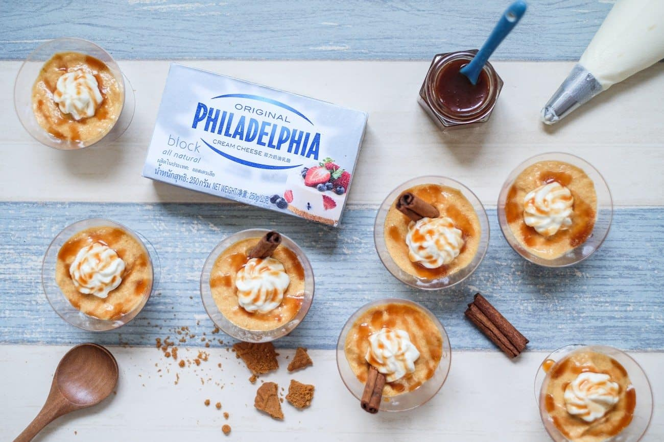 No-Bake Philadelphia Cheesecake
