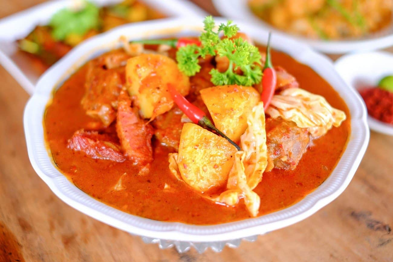 Quentin's the Eurasian Restaurant's Pineapple Prawn Curry