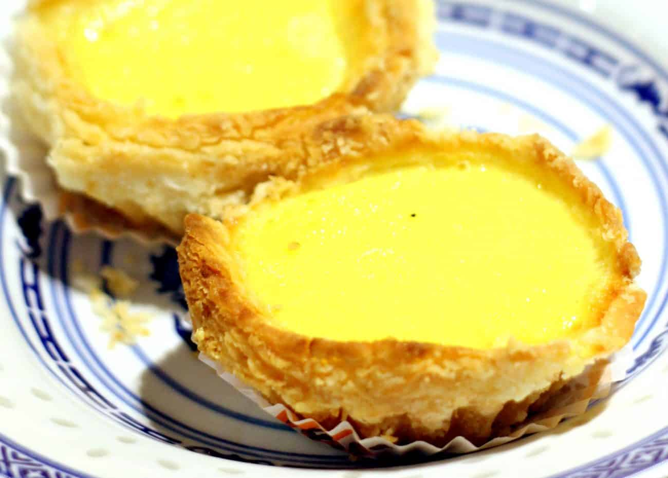 Honolulu Cafe: hong kong egg tarts