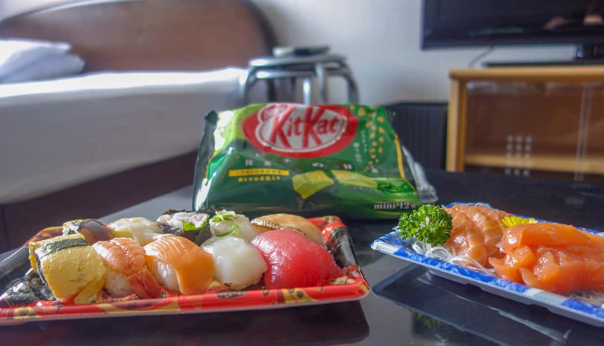 Japanese Salmon Sashimi
