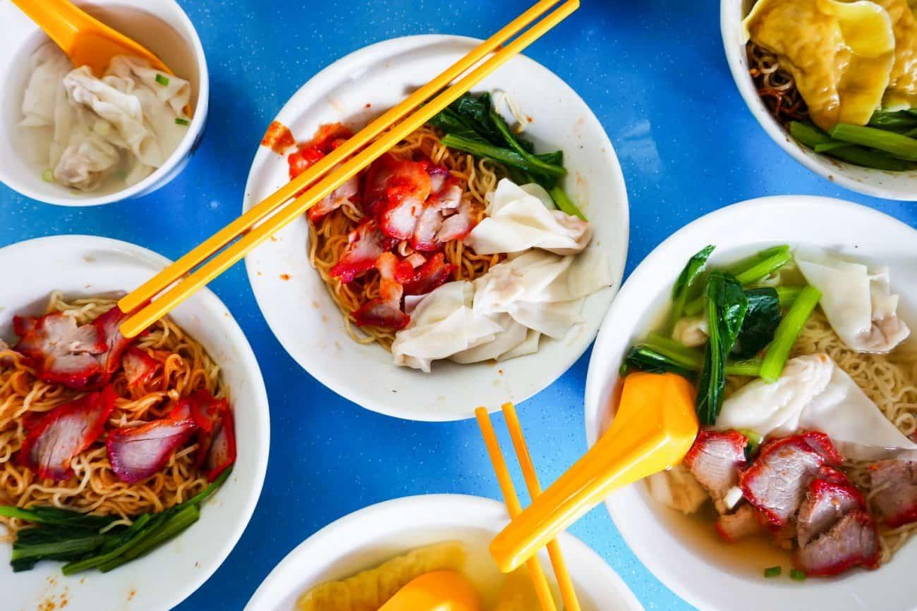 36 M.S Homemade Yun Tun Noodle