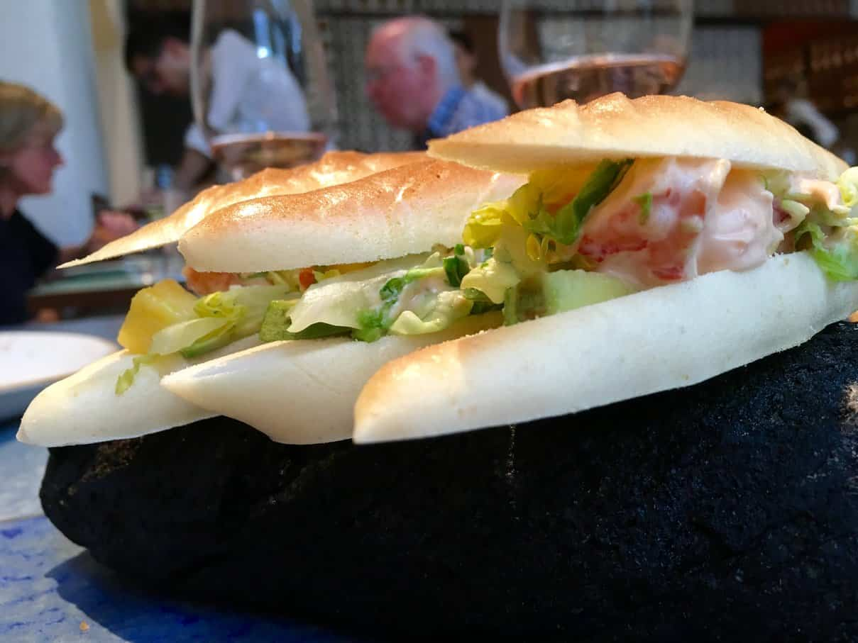 Prawn Cocktail Sandwich
