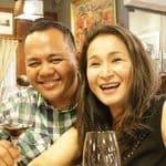 Travel Blogger Anton Diaz with wife Rachel