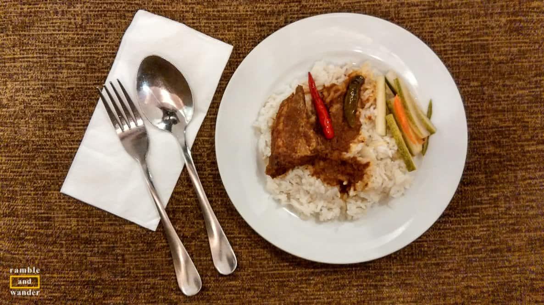 Nasi Dagang Terengganu