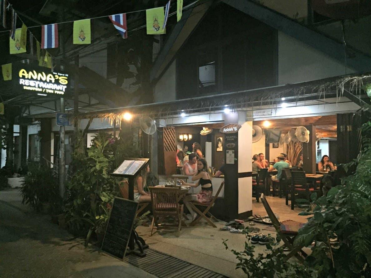Annas Restaurant Koh Phi Phi