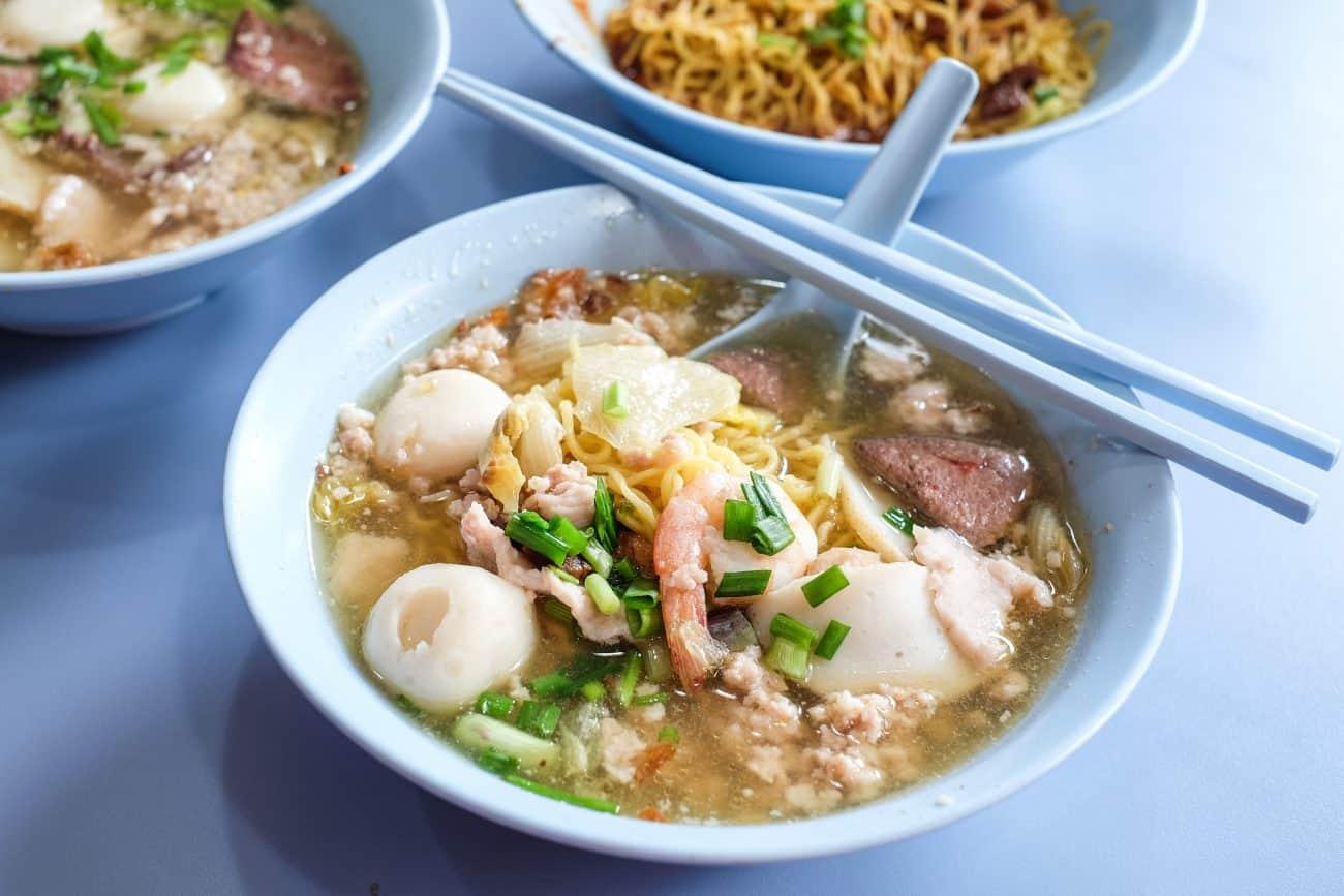 Ah Ter Teochew Fish Ball Noodles