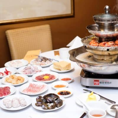 Peach Garden: One-For-One 4-Tier A La Carte Steamboat Buffet at Thomson Plaza