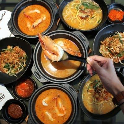 Wah Kee Big Prawn Noodle - Even Chow Yun-Fatt is Impressed!