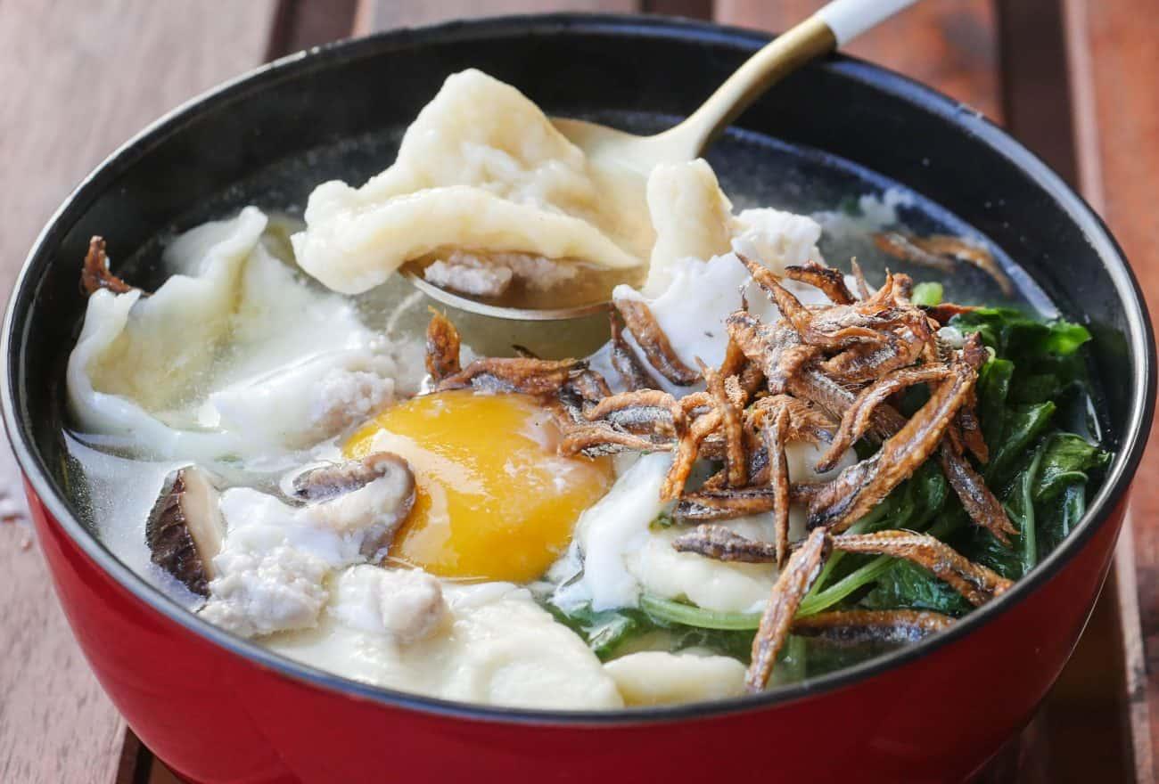 Recipe Mee Hoon Kueh Miss Tam Chiak