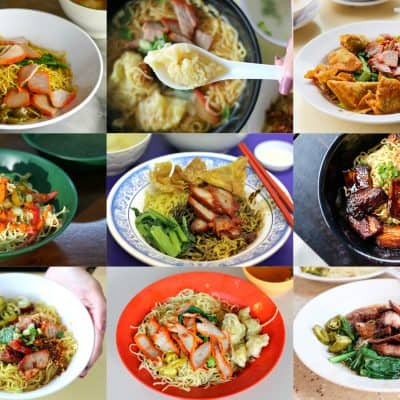17 Wanton Noodles in Singapore (Where's your favourite?)