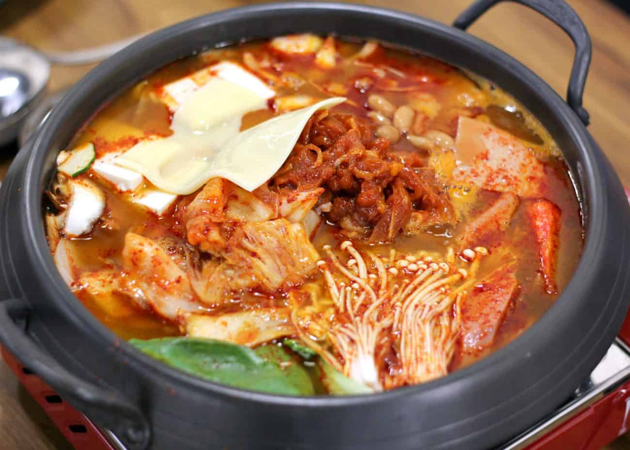 Muk bang korean restaurant delicious halal army stew for About korean cuisine
