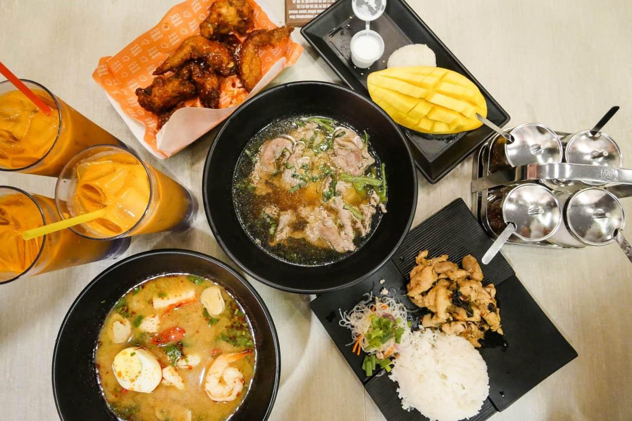 Saap Saap Thai Affordable Halal Thai Food In Tampines Hub