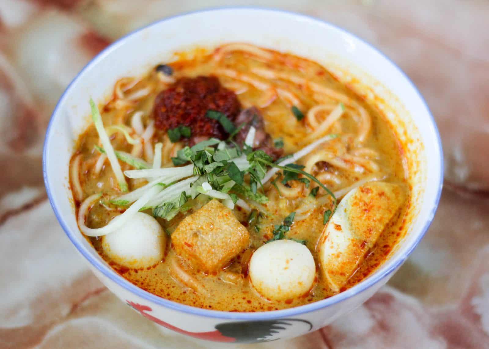 5 Best Nyonya Laksa in Malacca