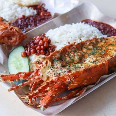 Lawa Bintang - A Delicious Encounter With Halal Lobster Nasi Lemak!