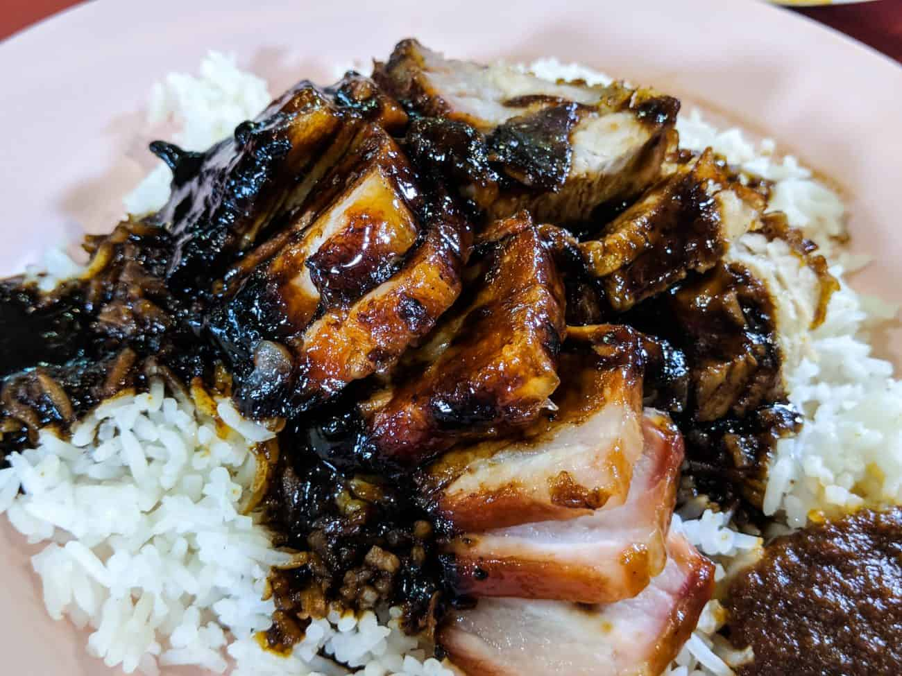 Image result for Charsiew Rice