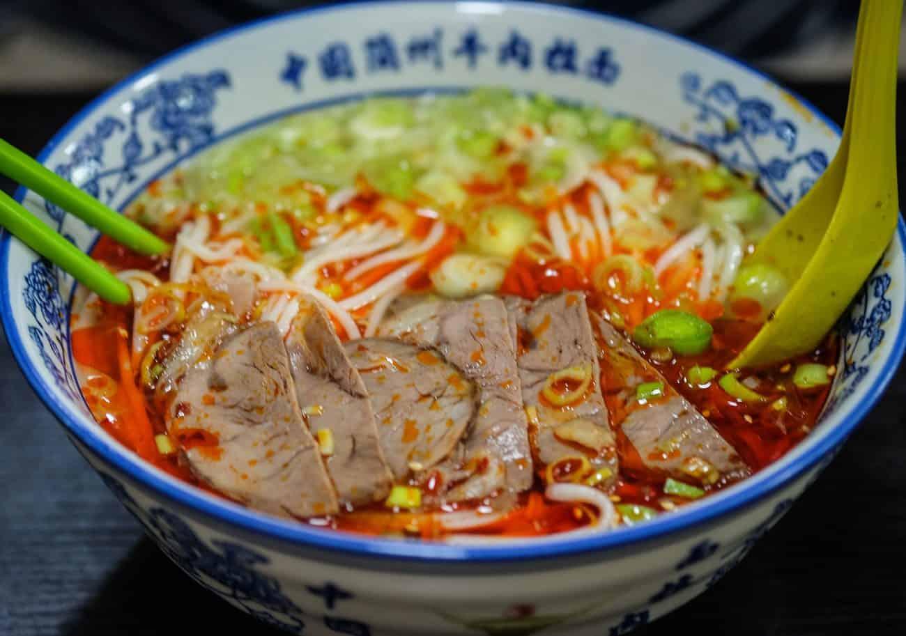 Niu Zou La Mian Muslim Food Halal Chinese Handmade Noodles That S Made Upon Order Miss Tam Chiak