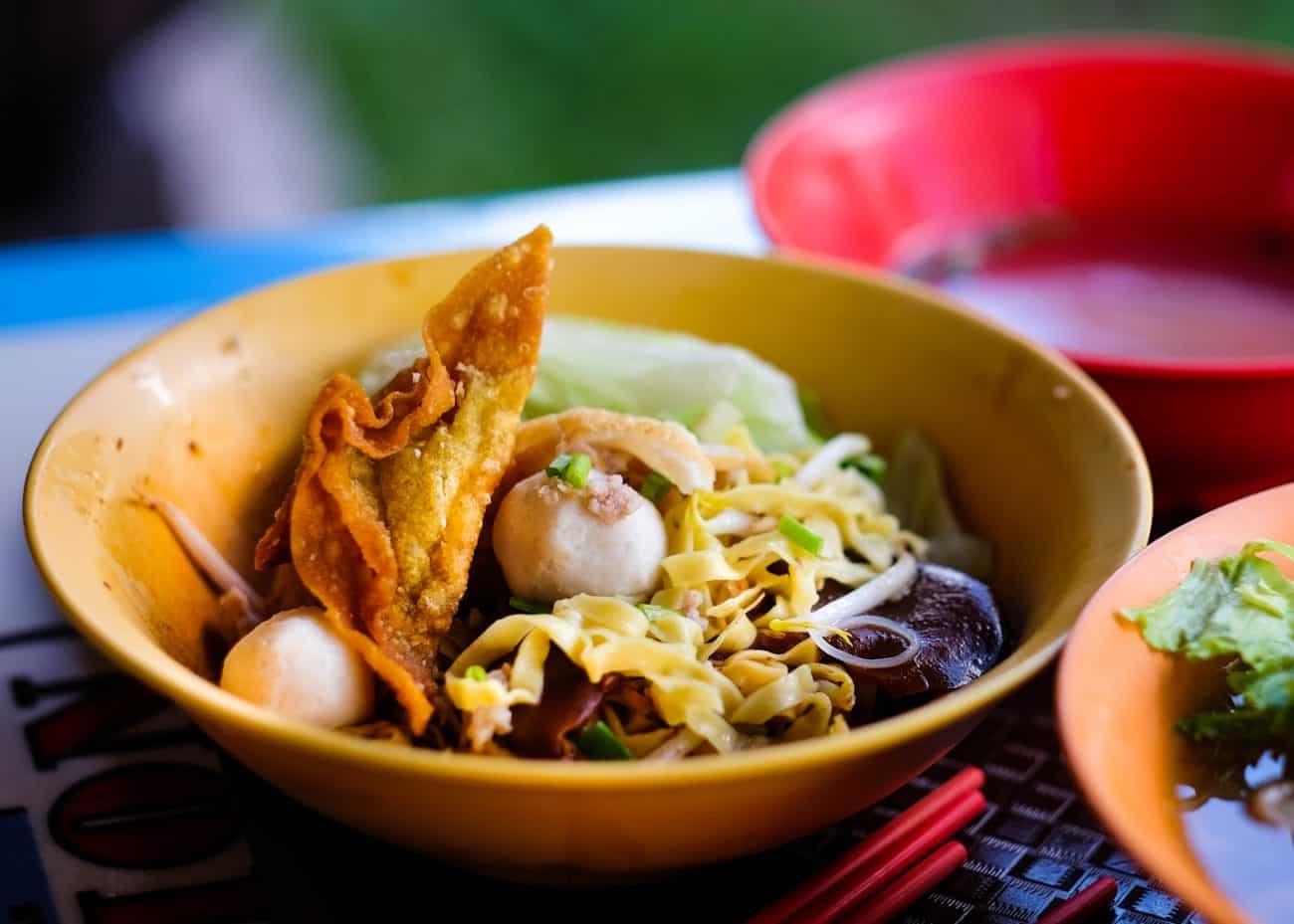 Cai Ji FIshball Noodle