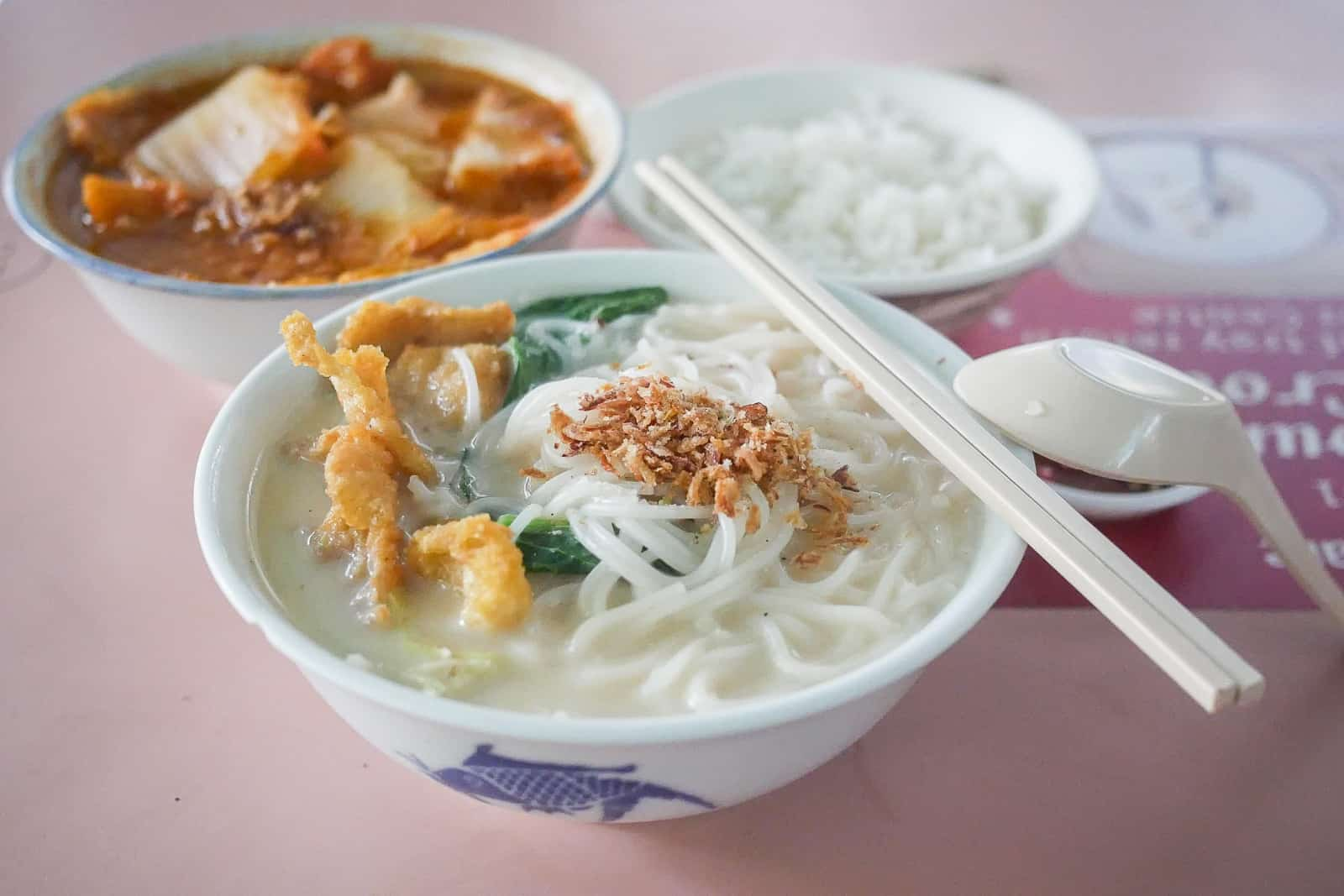 Beach Road Fish Head Bee Hoon One Of The Best Fish Soup Noodles In Singapore Miss Tam Chiak
