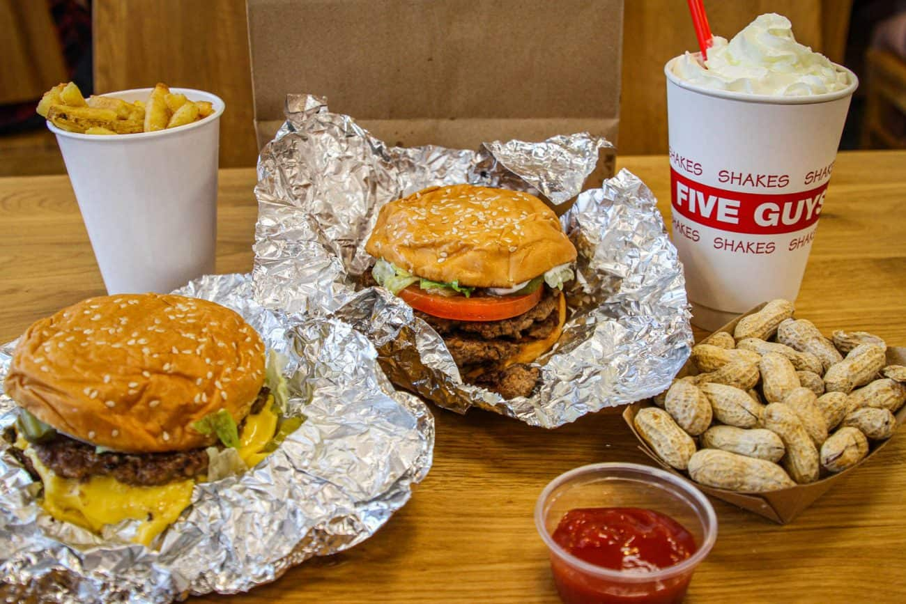Five Guys The Famous American Burger Joint Lands In Singapore Miss Tam Chiak